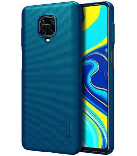 "Mėlynas dėklas Xiaomi Redmi Note 9S/9 Pro/9Pro Max telefonui ""Nillkin Frosted Shield"""
