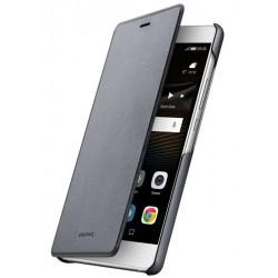 Originalus pilkas atverčiamas dėklas Huawei P9 Lite telefonui