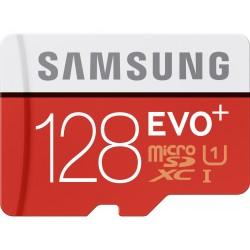 Atminties kortelė MicroSD Samsung EVO+ 128GB SDHC Class 10 mb-mc128d/eu
