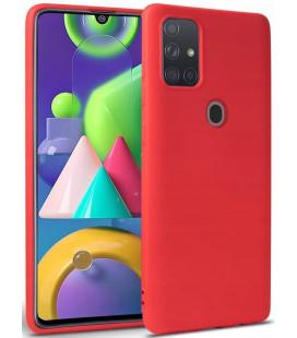 """Raudonas dėklas Samsung Galaxy A21S telefonui """"Tech-protect Icon"""""""
