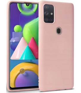 """Rožinis dėklas Samsung Galaxy A21S telefonui """"Tech-protect Icon"""""""