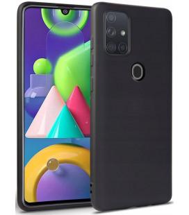 """Juodas dėklas Samsung Galaxy A21S telefonui """"Tech-protect Icon"""""""