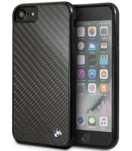 "Juodas dėklas Apple iPhone 7/8/SE 2020 telefonui ""BMHCI8MBC BMW Signature Carbon Cover"""