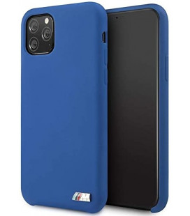 "Mėlynas dėklas Apple iPhone 11 Pro telefonui ""BMHCN58MSILNA BMW M Silicon Hard Cover"""
