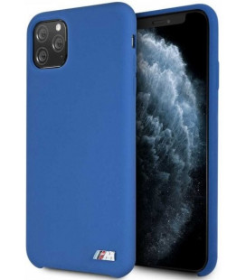 """Mėlynas dėklas Apple iPhone 11 Pro Max telefonui """"BMHCN65MSILNA BMW M Silicon Hard Cover"""""""