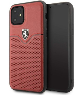 "Raudonas dėklas Apple iPhone 11 telefonui ""FEOVEHCN61RE Ferrari Victory Cover"""