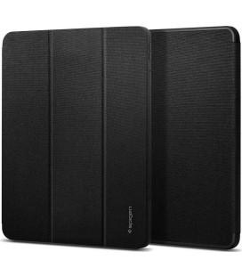 "Juodas atverčiamas dėklas Apple iPad Pro 12.9 2018/2020 planšetei ""Spigen Urban Fit"""