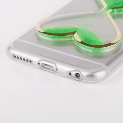 """Auksinės spalvos plastikinis dėklas Samsung Galaxy S6 Edge Telefonui """"Nillkin Frosted Shield"""""""