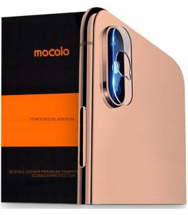 """Apsauginis grūdintas stiklas Apple iPhone X/XS telefono kamerai apsaugoti """"Mocolo TG+"""""""