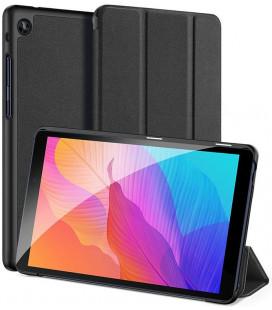 """Juodas atverčiamas dėklas Huawei Matepad T8 8.0 planšetei """"Dux Ducis Domo"""""""