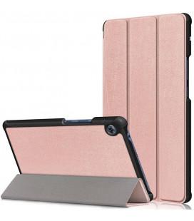 """Rausvai auksinės spalvos atverčiamas dėklas Huawei MatePad T8 8.0 planšetei """"Tech-Protect Smartcase"""""""