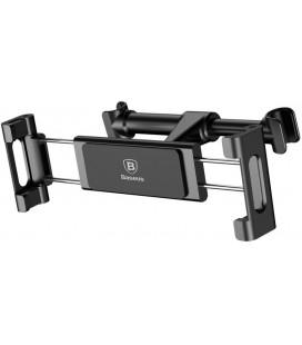 """Juodas automobilinis planšetinio kompiuterio laikiklis tvirtinamas prie sėdynės """"Baseus Car Headrest"""""""