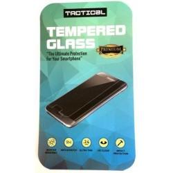 """Stiklo apsauga 0,24mm - lenktas juodas grūdintas stiklas """"Tempered Glass"""" Samsung Galaxy S6 Edge G925 telefonui """"Tactical"""""""