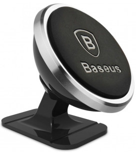 """Sidabrinės spalvos magnetinis automobilinis telefono laikiklis """"Baseus 360 Magnetic"""""""