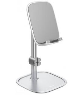 """Sidabrinės spalvos universalus stovas - laikiklis telefonams ir planšetėms """"Baseus"""""""