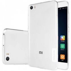 """Skaidrus silikoninis dėklas Xiaomi Mi5 telefonui """"Nillkin Nature"""""""