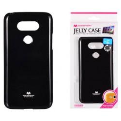 """LG G5 H850 juodas silikoninis dėklas Mercury Goospery """"Jelly Case"""""""