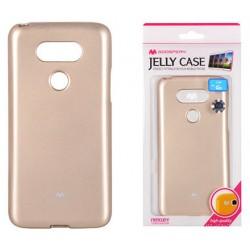 """LG G5 H850 auksinės spalvos silikoninis dėklas Mercury Goospery """"Jelly Case"""""""