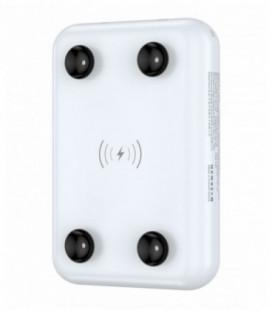 Išorinė baterija Power Bank Devia Kintone Mini 10000mAh su bevielio įkrovimo funkcija baltas