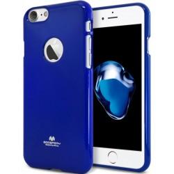 "Mėlynas silikoninis dėklas Mercury Goospery ""Jelly Case"" Apple iPhone 7 telefonui"