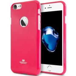 """Rožinis silikoninis dėklas Mercury Goospery """"Jelly Case"""" Apple iPhone 7 telefonui"""
