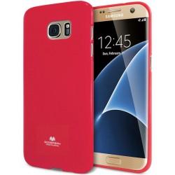 """Rožinis dėklas Mercury Goospery """"Jelly Case"""" Samsung Galaxy S7 Edge telefonui"""
