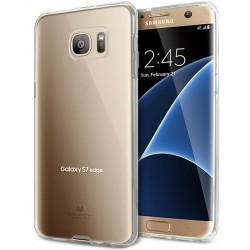 """Skaidrus dėklas Mercury Goospery """"Jelly Case"""" Samsung Galaxy S7 Edge telefonui"""