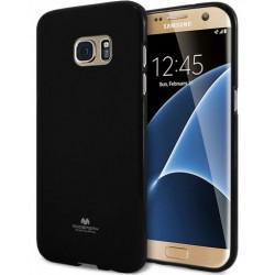 """Juodas dėklas Mercury Goospery """"Jelly Case"""" Samsung Galaxy S7 Edge telefonui"""
