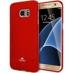 """Odinis rudas atverčiamas dėklas Samsung Galaxy S6 Edge telefonui """"Nillkin Qin"""""""