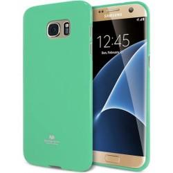 """Mėtos spalvos dėklas Mercury Goospery """"Jelly Case"""" Samsung Galaxy S7 Edge telefonui"""