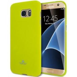"""Žalias dėklas Mercury Goospery """"Jelly Case"""" Samsung Galaxy S7 Edge telefonui"""