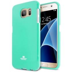 """Mėtos spalvos dėklas Mercury Goospery """"Jelly Case"""" Samsung Galaxy S7 telefonui"""