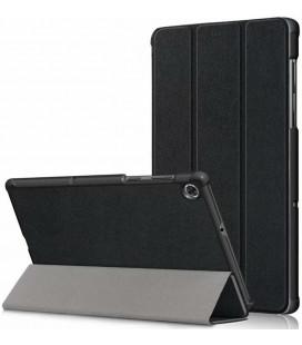 """Juodas atverčiamas dėklas Lenovo Tab M10 Plus 10.3 TB-X606 planšetei """"Tech-Protect Smartcase"""""""