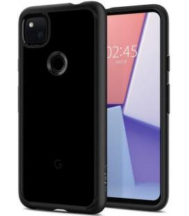 "Juodas dėklas Google Pixel 4A telefonui ""Spigen Ultra Hybrid"""