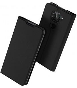 """Juodas atverčiamas dėklas Xiaomi Redmi Note 9 telefonui """"Dux Ducis Skin Pro"""""""