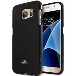 """Juodas dėklas Mercury Goospery """"Jelly Case"""" Samsung Galaxy S7 telefonui"""