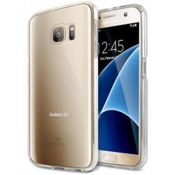 """Skaidrus dėklas Mercury Goospery """"Jelly Case"""" Samsung Galaxy S7 telefonui"""