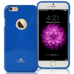 "Mėlynas dėklas Mercury Goospery ""Jelly Case"" Apple iPhone 6/6s telefonui"