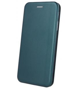 """Žalias atverčiamas dėklas Xiaomi Redmi Note 9s/9 Pro/9Pro Max telefonui """"Book Elegance"""""""
