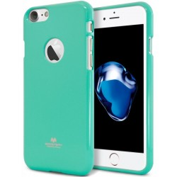 "Mėtos spalvos silikoninis dėklas Mercury Goospery ""Jelly Case"" Apple iPhone 7 telefonui"