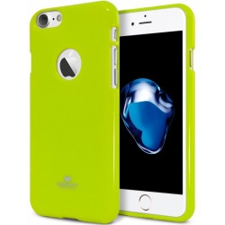 "Žalias silikoninis dėklas Mercury Goospery ""Jelly Case"" Apple iPhone 7 telefonui"