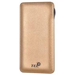 """Auksinės spalvos išorinė baterija 12000mAh PowerBank """"Tel1"""""""