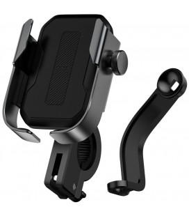 """Juodas universalus telefonų laikiklis dviračiams """"Baseus Armor Bike"""""""