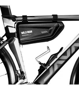 """Juodas universalus dėklas dviračiams """"Wildman Hardpounch E4"""""""