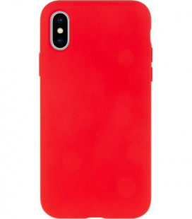 Dėklas Mercury Silicone Case Apple iPhone X/XS raudonas