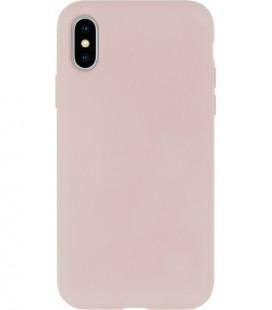 Dėklas Mercury Silicone Case Apple iPhone X/XS rožinio smėlio