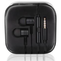 """Juodos stereo ausinės """"3.5mm HF Mi BLack"""""""