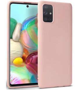 """Rožinis dėklas Samsung Galaxy A31 telefonui """"Tech-protect Icon"""""""