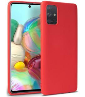 """Raudonas dėklas Samsung Galaxy A31 telefonui """"Tech-protect Icon"""""""