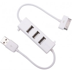 Adapteris iPad - USB + 3 USB jungtys